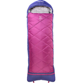 Lestra Athabaska Junior Sleeping Bag Children pink/purple
